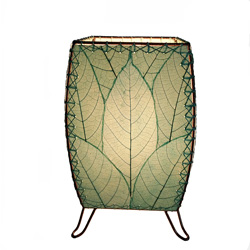 New Garden Decor Line – Leaf Lamps by Eangee